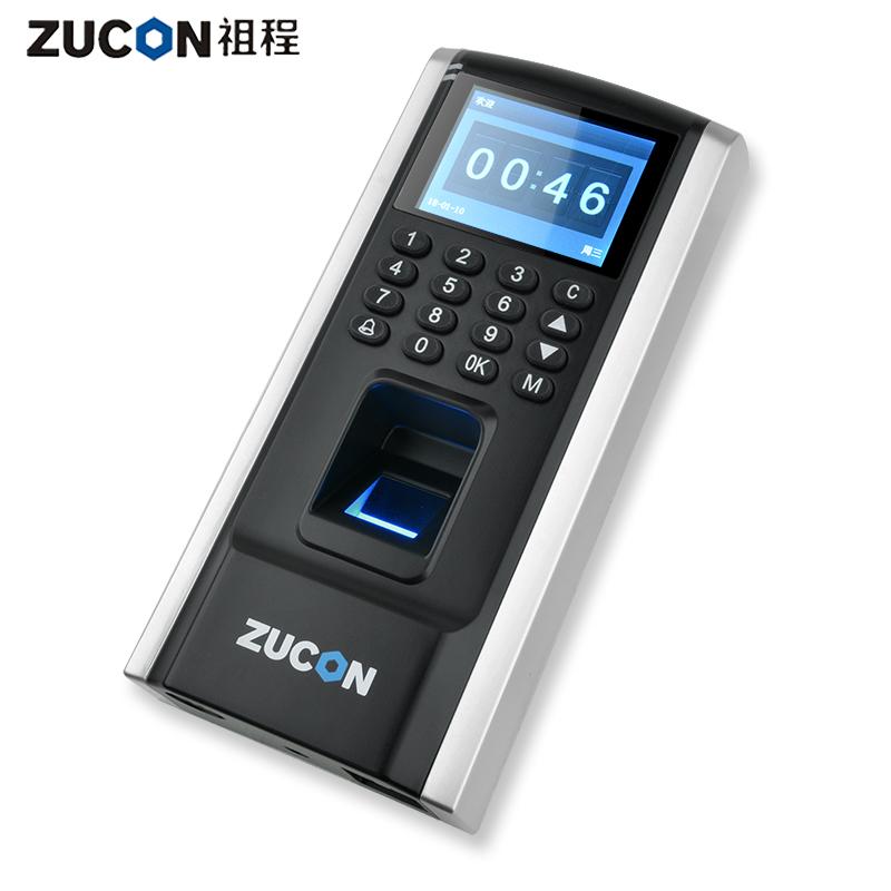 大容量 3000 盘下载数据 U 祖程指纹刷卡密码门禁考勤主机网络 ZUCON