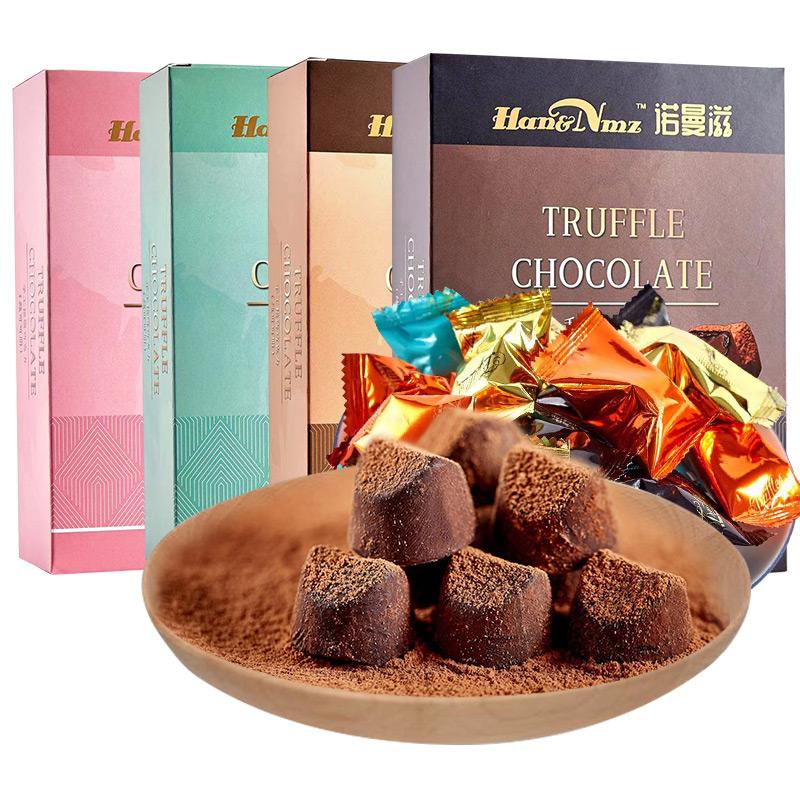 纯可可脂松露型巧克力