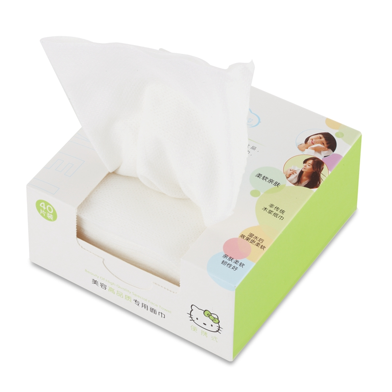 一次性洗脸巾纯棉面巾纸美容院洁面巾美容巾无纺布洗面巾擦脸巾纸