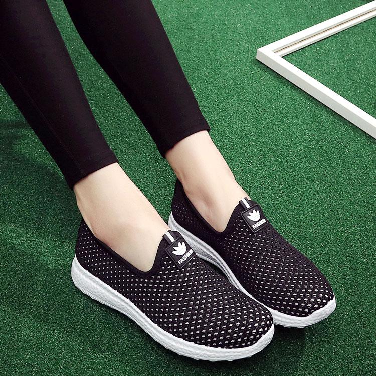 网鞋女老北京布鞋女单鞋平底休闲运动鞋低帮学生鞋透气凉鞋妈妈鞋