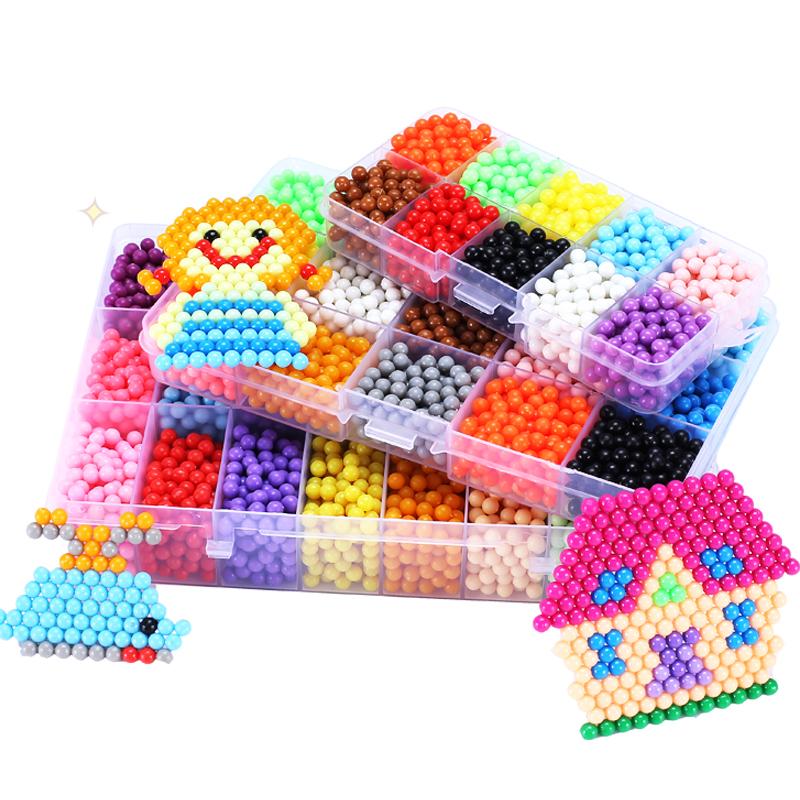 水雾神奇魔法珠手工diy魔珠水雾魔珠女孩水珠制作益智儿童玩具