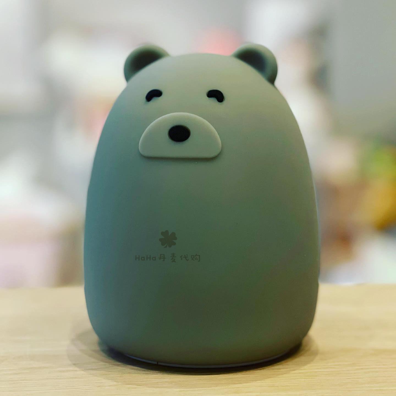 环保硅胶 USB 新款充电小夜灯可爱卡通台灯桌灯 Liewood 现货丹麦代购