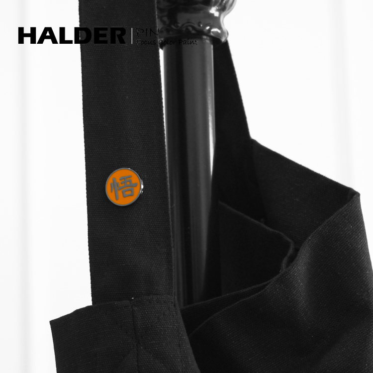 男女书包徽章 字合金属胸针 七龙珠周边悟空龟仙人背后 HALDER