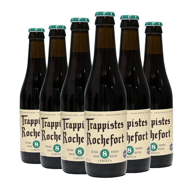 精酿啤酒 瓶 6 330ml 号啤酒 8 罗斯福 修道士啤酒 比利时进口啤酒