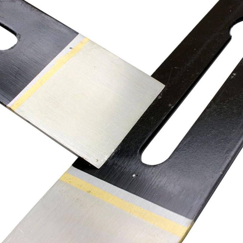 焊锋钢木工刨刀片 手工高速钢木匠刨刃片44/51mm 手推刨刀片
