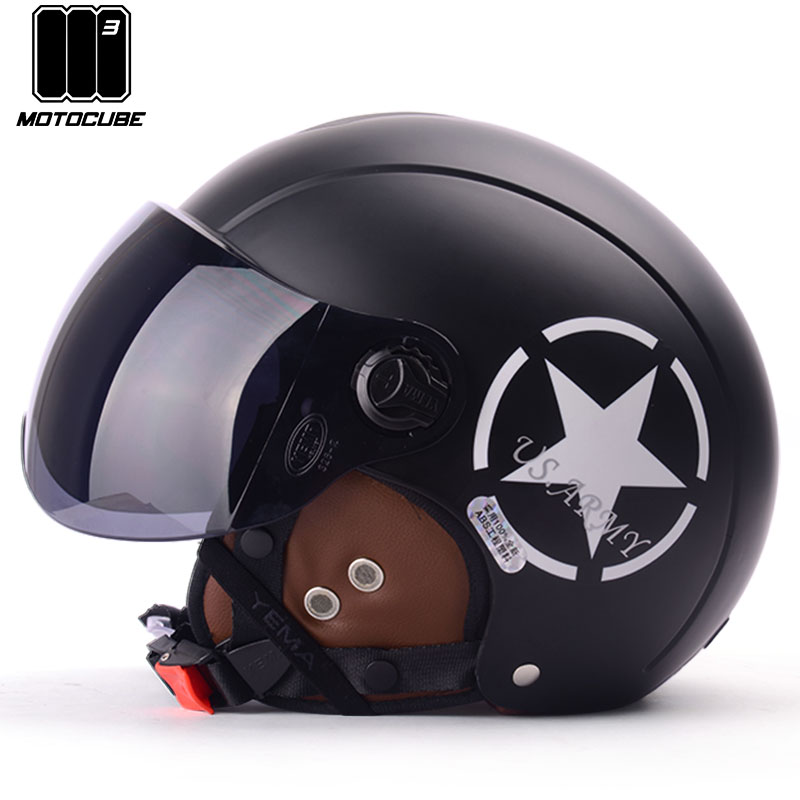 M3野马电动摩托车头盔男冬季保暖电瓶安全头帽女灰半盔四季轻便式