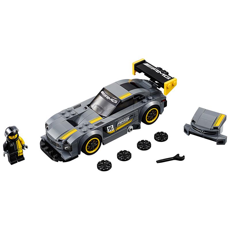 乐高机械组赛车法拉利保时捷儿童拼插积木模型男孩玩具汽车跑车