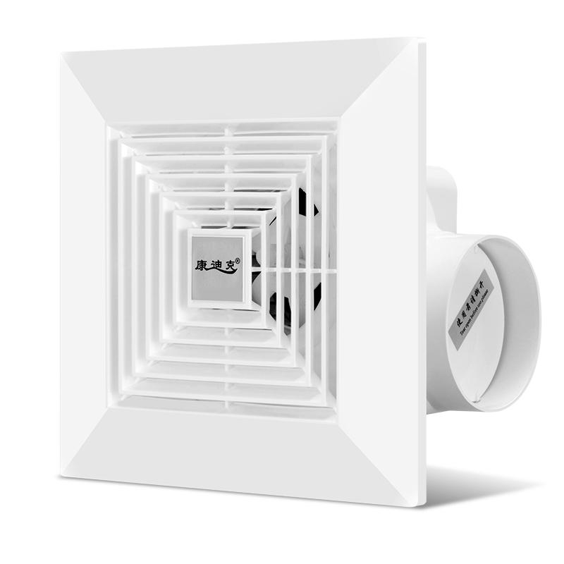 排气扇卫生间换气扇8寸厨房吸顶式排风扇强力静音抽风机集成吊顶