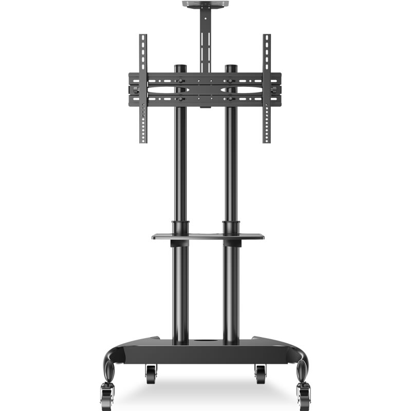 液晶显示器可移动电视机支架落地式挂架小米32/55/65寸一体机推车