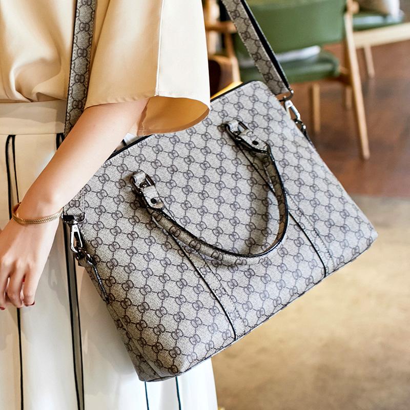商务职业女包 职场手提包 OL 新款时尚 2018 大容量大包包 女士公文包