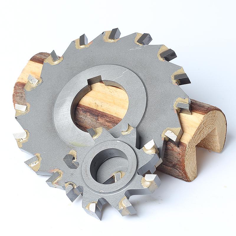 硬质合金锯片 钨钢三面刃铣刀YG/YW2圆盘铣刀150*3 4 5 6 8 10-20