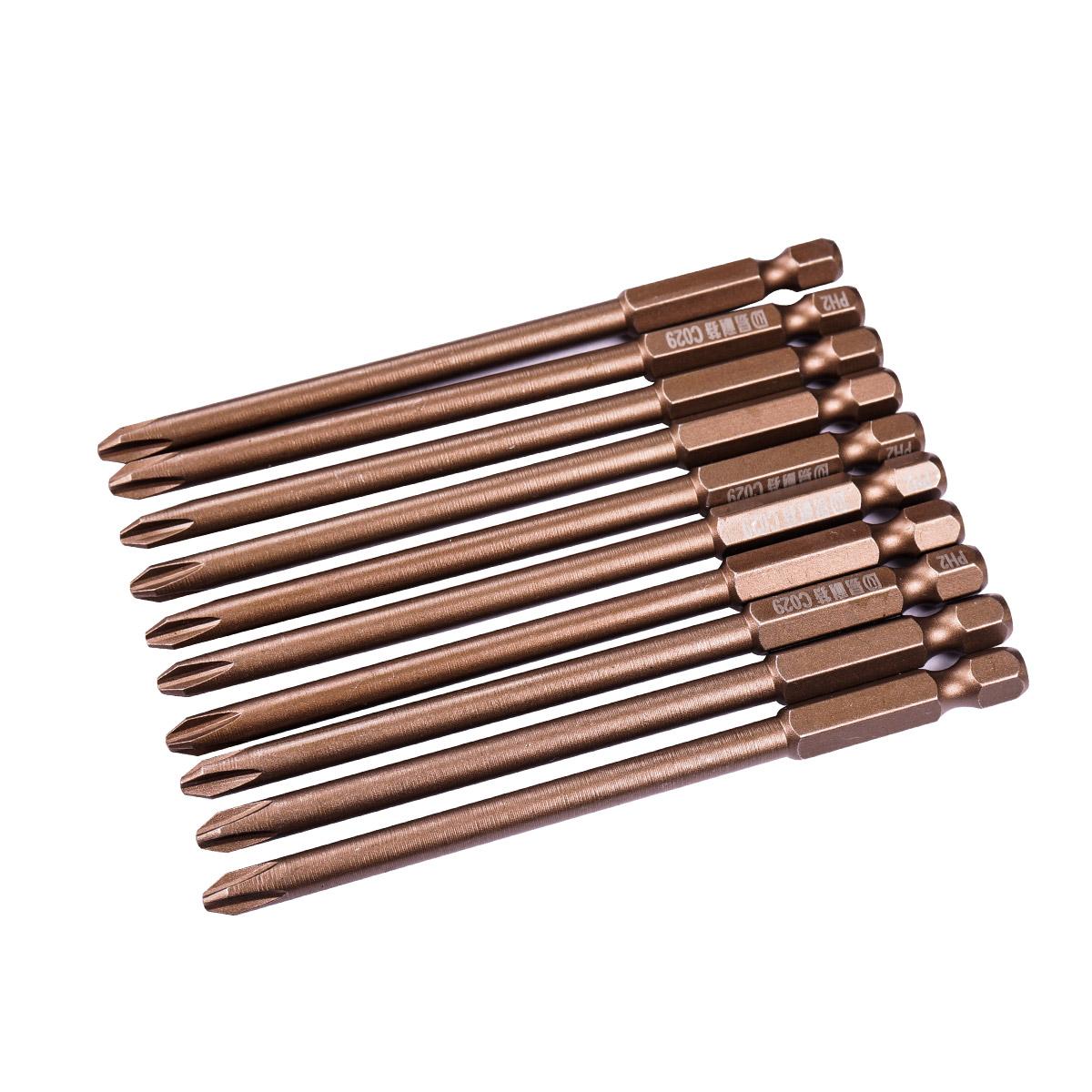 易耐特S2加长十字风批头批咀带磁批嘴多功能电动螺丝刀批头