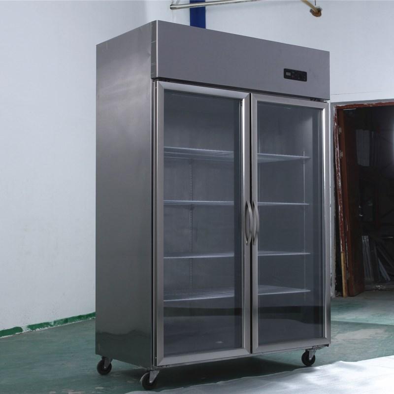 海霜冷藏展示柜商用立式茶叶水果保鲜柜冷藏冰柜串串香点菜展示柜高清大图