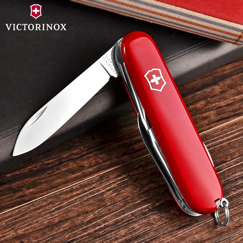 原装正品瑞士军刀91mm旅行家1.4613维氏迷你户外多功能折叠瑞士刀