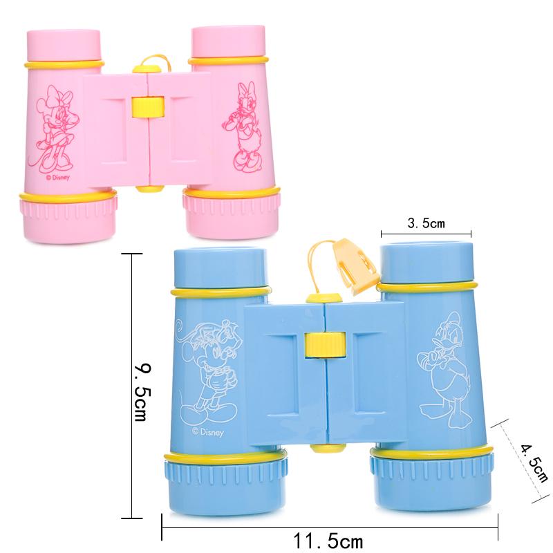 迪士尼儿童望远镜玩具男孩迷你双筒望远镜高倍高清宝宝玩具女孩子