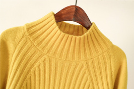 网红高领套头毛衣女秋冬新款韩版慵懒风加厚宽松小清新甜美针织衫