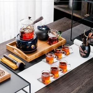 恒温小容量开水电加热茶具电子茶水普洱茶壶煮茶器蒸汽加热器欧式