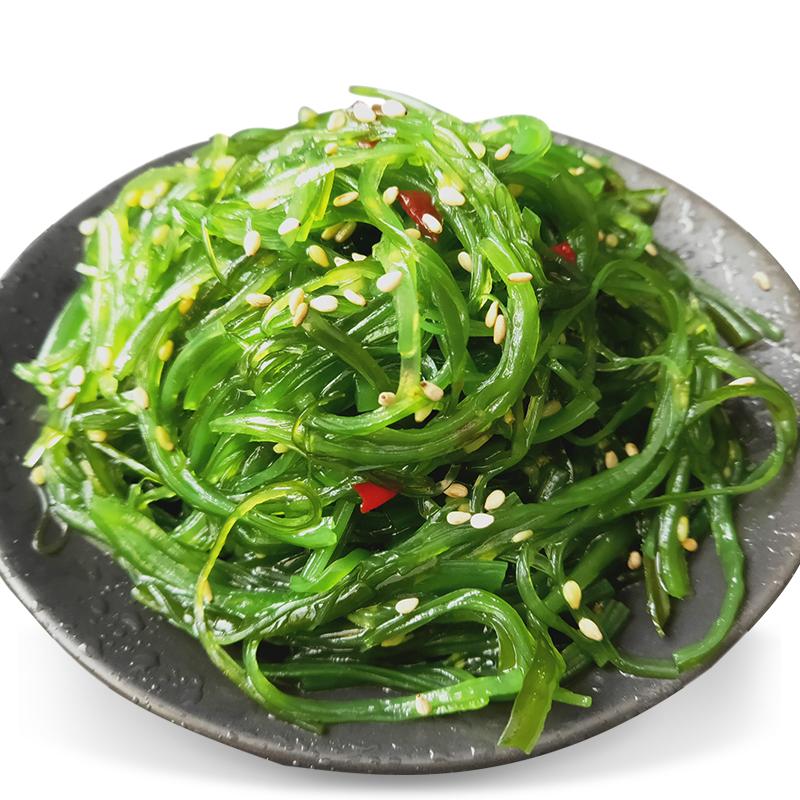 辽鲜裙带菜即食日式海藻沙拉500g海带丝开袋即食中华海草2袋包邮