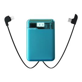 瑞典正品sy充电宝20000毫安自带线迷你大容量移动电源超薄小巧便携石墨烯适用苹果专用小米华为1000000超大量