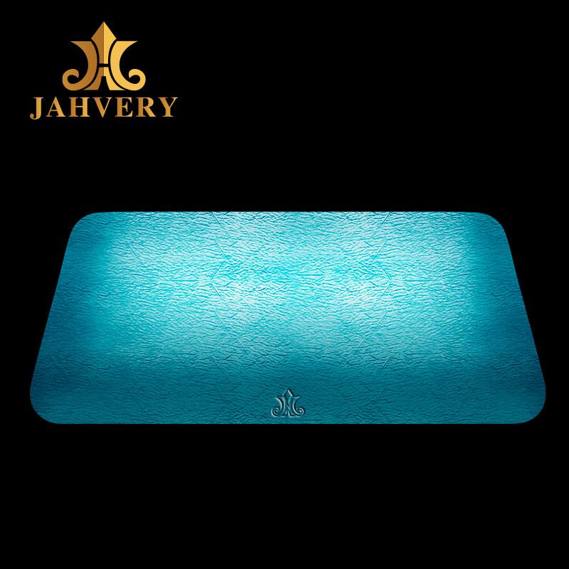 JAHVERY睡眠枕头 迈阿密蓝枕芯黑马手工枕套悬浮经典护颈枕头