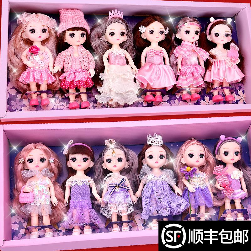 乖乖芭比娃娃3岁10岁以上女孩子生日礼物2021年新款5女童玩具7一9