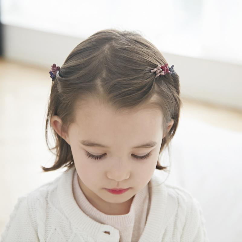 50个韩国儿童迷你小抓夹宝宝女童可爱发夹发卡泫雅小花公主发饰品
