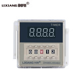 Lixiang Digital Display Time Relay 220V 24V DH48S-2ZH Delay Relay Controller