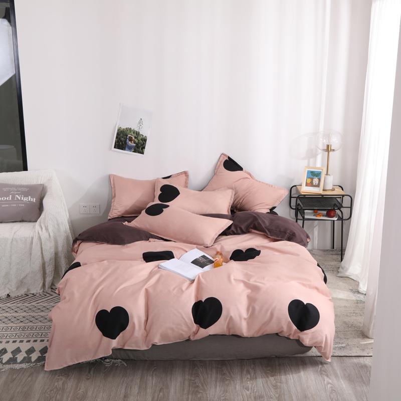 床上用品双人四件套1.5/1.8m被套床单学生宿舍三件套1.2单人被罩