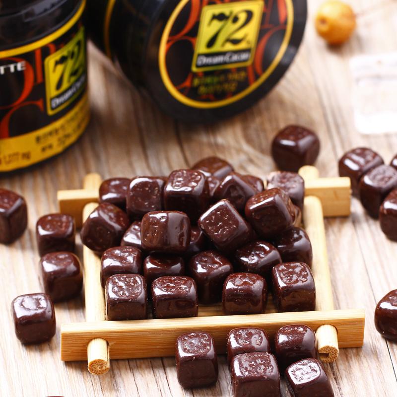 韩国进口 LOTTE 乐天 黑巧克力 86g*3罐 天猫优惠券折后¥29.9包邮(¥39.9-10)脆米巧克力等多款可选