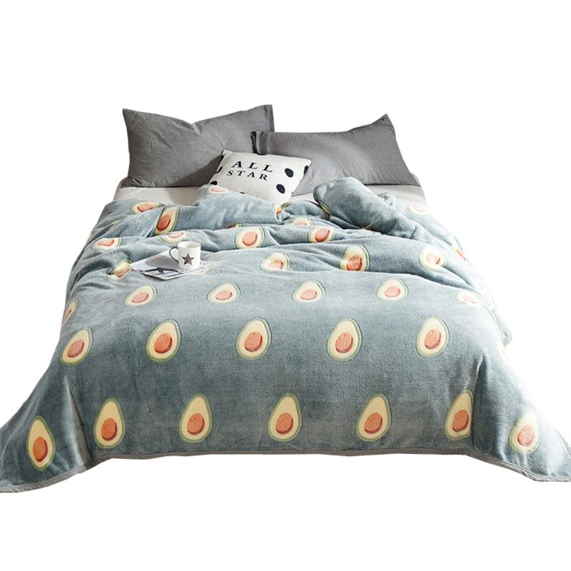 南极人珊瑚绒毛毯被子加厚保暖法兰绒毯子冬季床单人宿舍学生午睡
