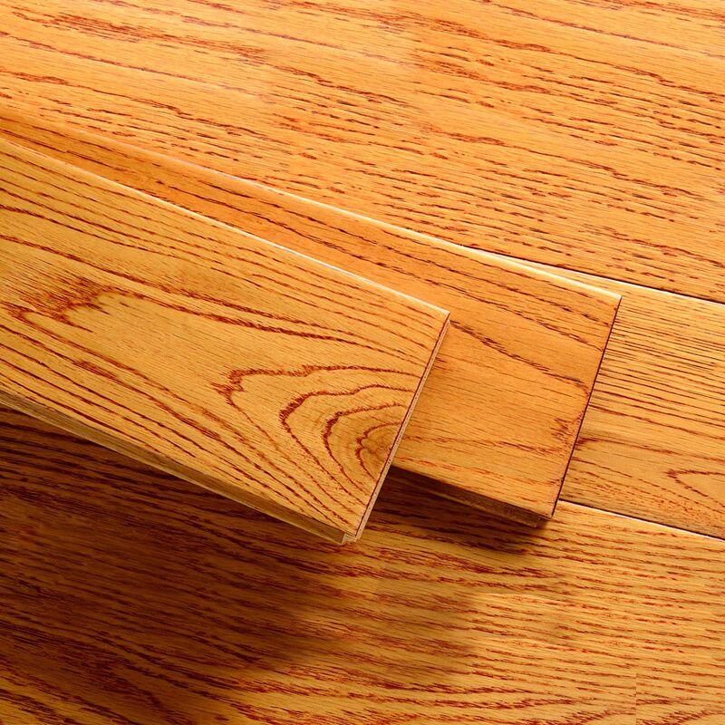 莫干山 实木地板橡木仿古典卧室家用木地板欧美风 厂家直销包安装
