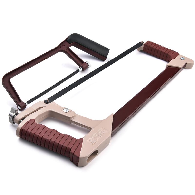力箭钢锯架手锯弓架钢锯弓铁锯拉花锯木工锯手工锯子五金工具