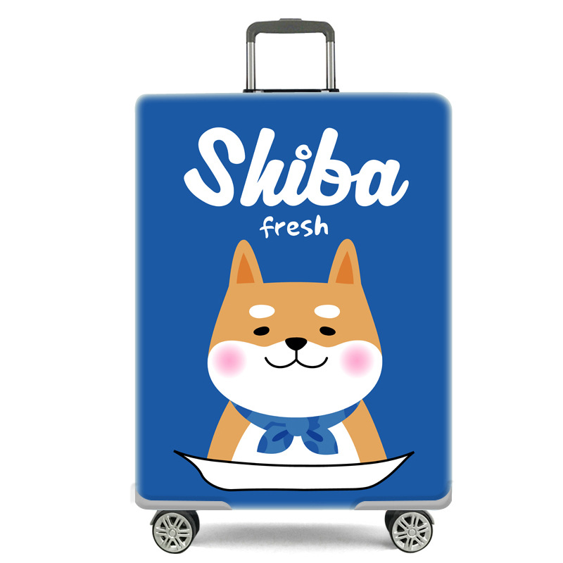 弹力行李箱保护套拉杆旅行箱套防尘罩袋20寸24寸28寸加厚耐磨箱套