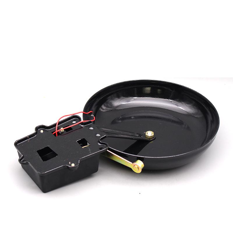 人民电铃10寸外击式铸铁SHF-250MM学校工厂无火花棒式电铃打铃器