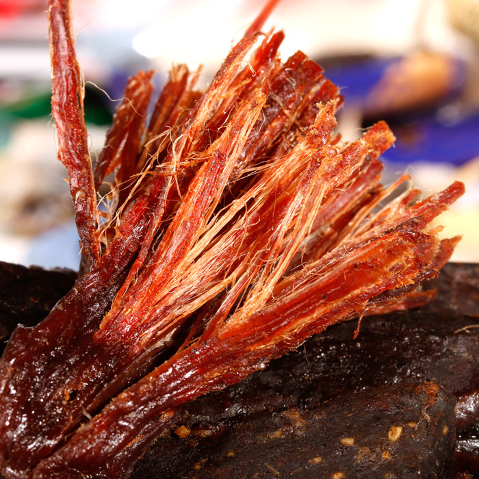 牛肉干內蒙古牛肉干風干牛肉干手撕牛肉干條包郵特價零食500克