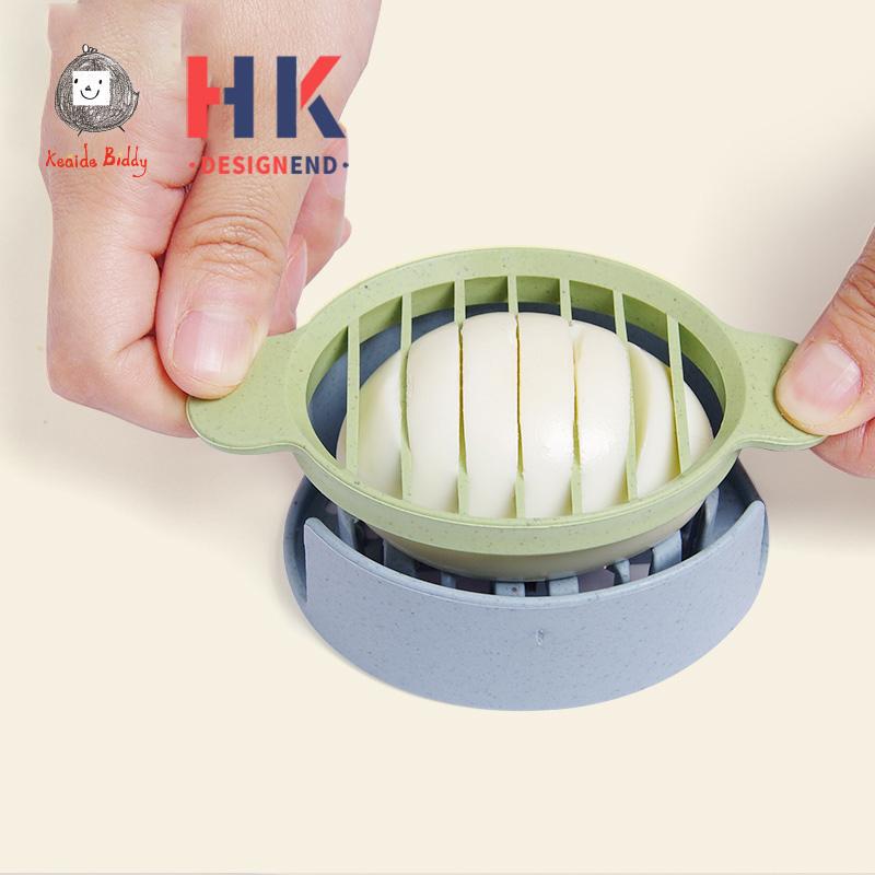 创意切蛋鸡蛋分蛋花式皮蛋分割松花蛋鸡蛋切片厨用小工具辅食器