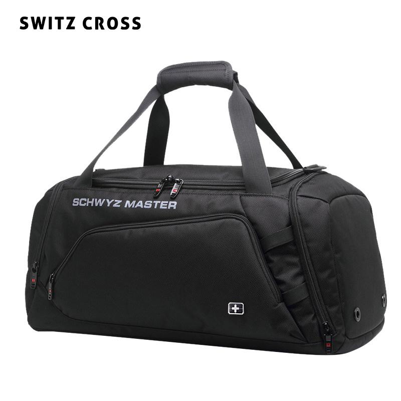 干湿分离旅行包手提包男运动训练健身包短途双肩旅游大容量行李袋