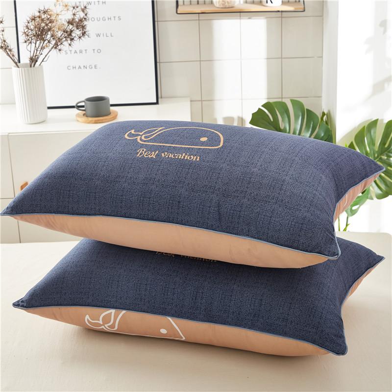 网红枕头枕芯正品一对装枕头学生宿舍床单人一只装成人护颈椎枕女