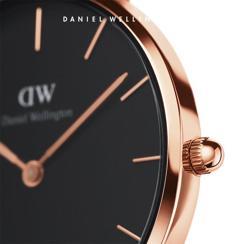 皮革表带女表 28mm 手表 dw Danielwellington 礼享圣诞