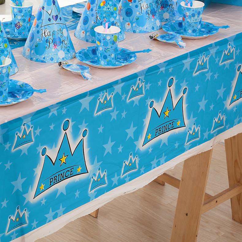 生日派对用品 儿童party人气单品 聚会用品 桌布布置多款