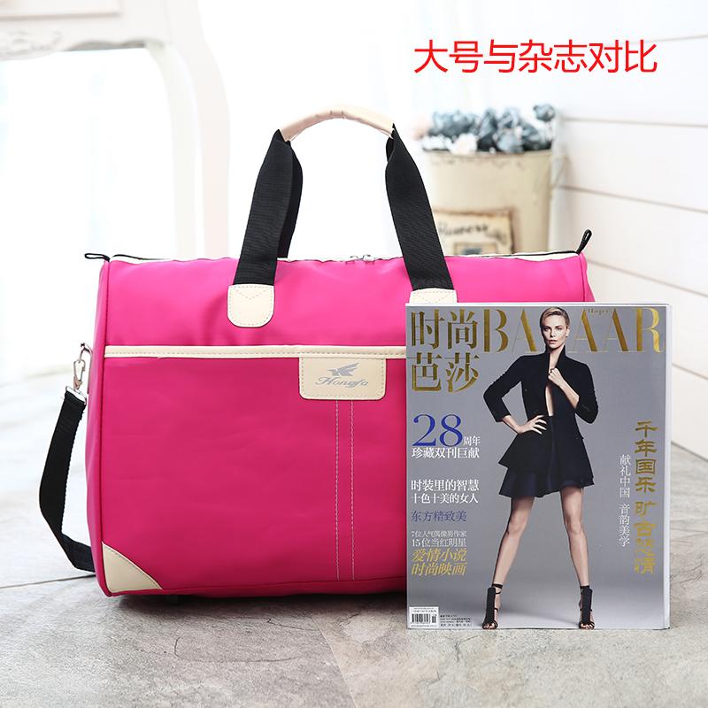 新款韩版牛津旅行包男女手提大容量旅游包行李包运动健身包旅行袋