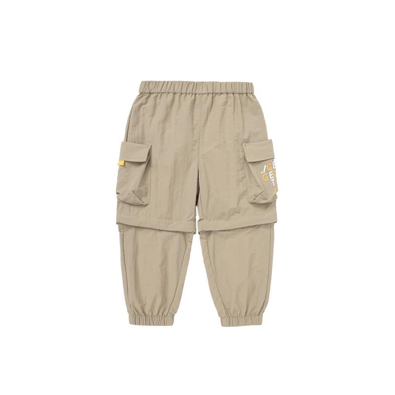 【迷你巴拉巴拉】可拆卸两穿工装裤