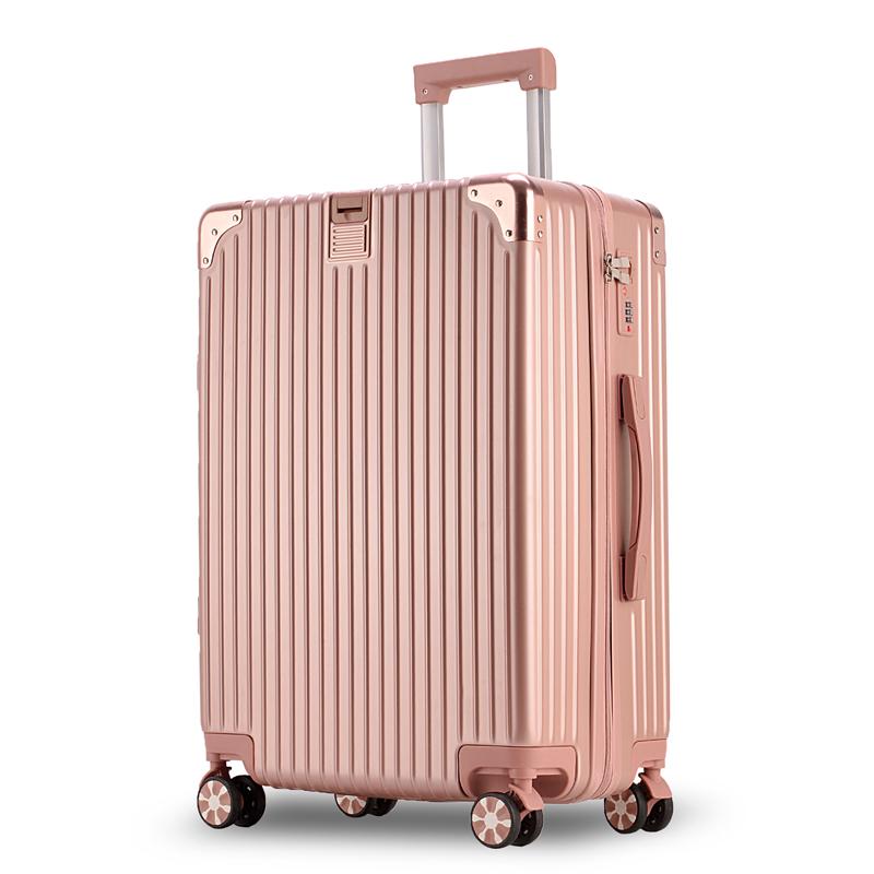 寸韩版皮拉杆箱 22 寸密码箱潮男万向轮 24 网红女旅行箱子 ins 行李箱