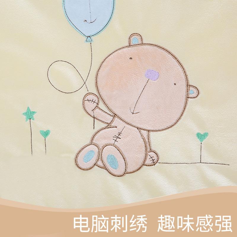 AUSTTBABY新生儿婴儿床上用品床品套件宝宝纯棉床围七件套可洗