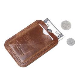 小卡包男士真皮卡片包超薄卡夹迷你零钱包公交银行卡套驾驶证皮套