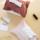 白田  ins北欧丝绒纸巾盒纸巾套布艺抽纸袋车载家用餐巾纸收纳盒 mini 2