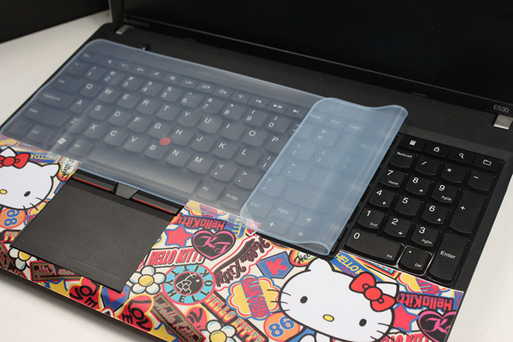 平面通用型 台式机/笔记本电脑键盘膜10-14/15.6/17寸联想华硕戴尔惠普宏碁神舟战神雷神机械师防尘水保护贴