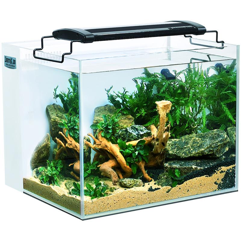 鱼缸水族箱小型背滤桌面生态鱼缸创意办公桌金鱼缸玻璃客厅