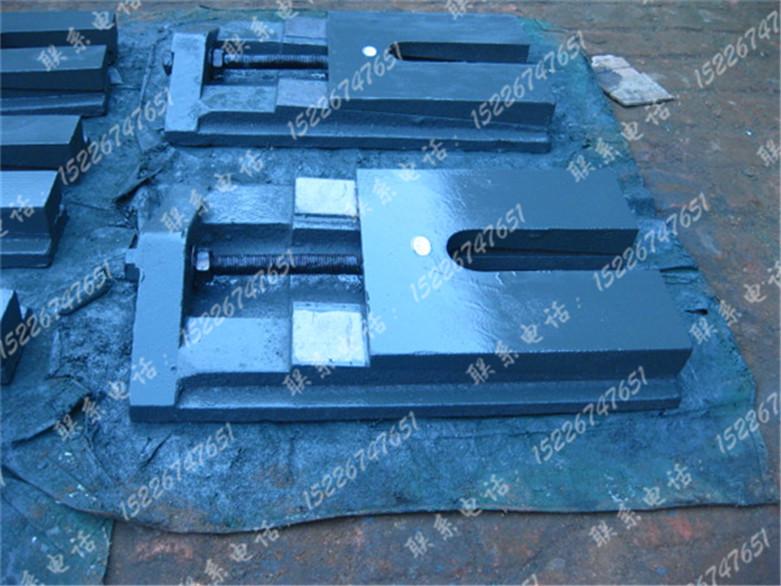 铸铁防震垫块可调节垫脚S83型精密机床两层重型调整斜垫铁系列