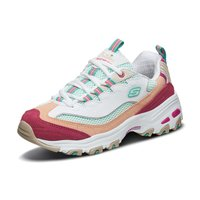 Skechers斯凯奇女鞋复古厚底熊猫鞋老爹鞋时尚休闲鞋运动鞋 13146 (¥499(券后))